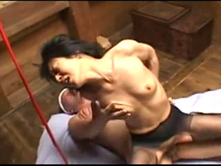 Japanese Mature Woman Tied Up And Fucked Hard