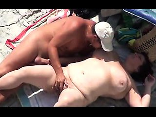 wife fucking on the beach