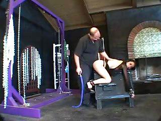 A dark-haired slave