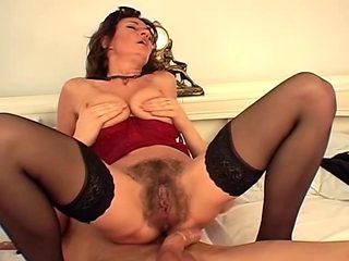 Sexy Breasty Bushy Aged Squirting