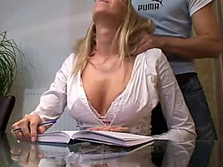German Private Teacher Fuck