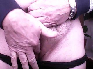 Black Panties Clit